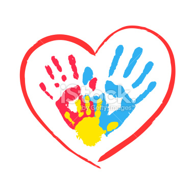 stock illustration 36539288 parent s and kid s hands in a heart